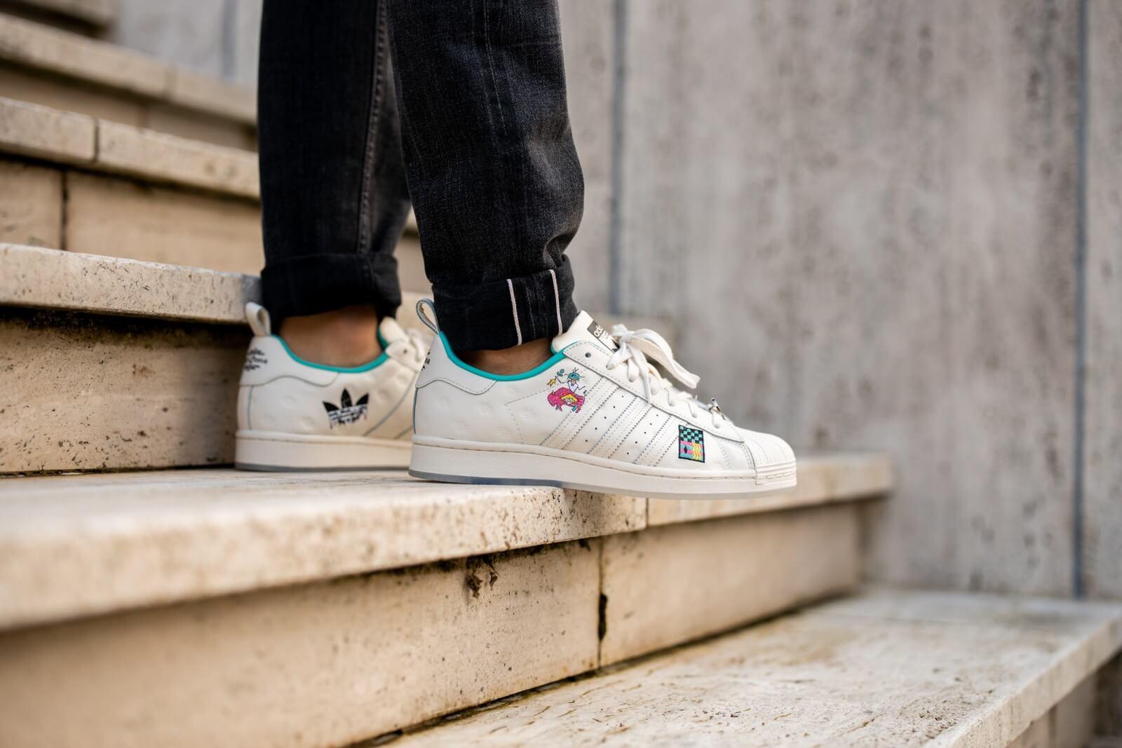 Adidas x Arizona Iced Tea Superstar Teal/Chalk White