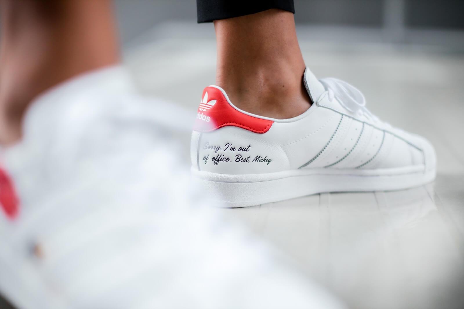 Adidas x Disney Superstar Footwear White/Core Black - FW2901