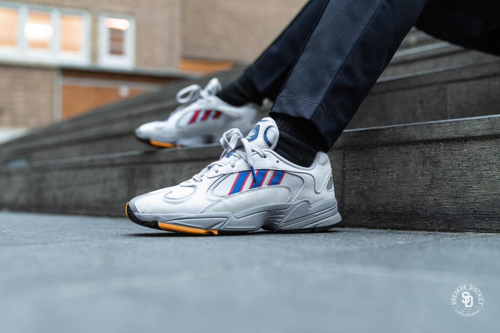 Adidas Yung-1 Grey Two/Collegiate Royal