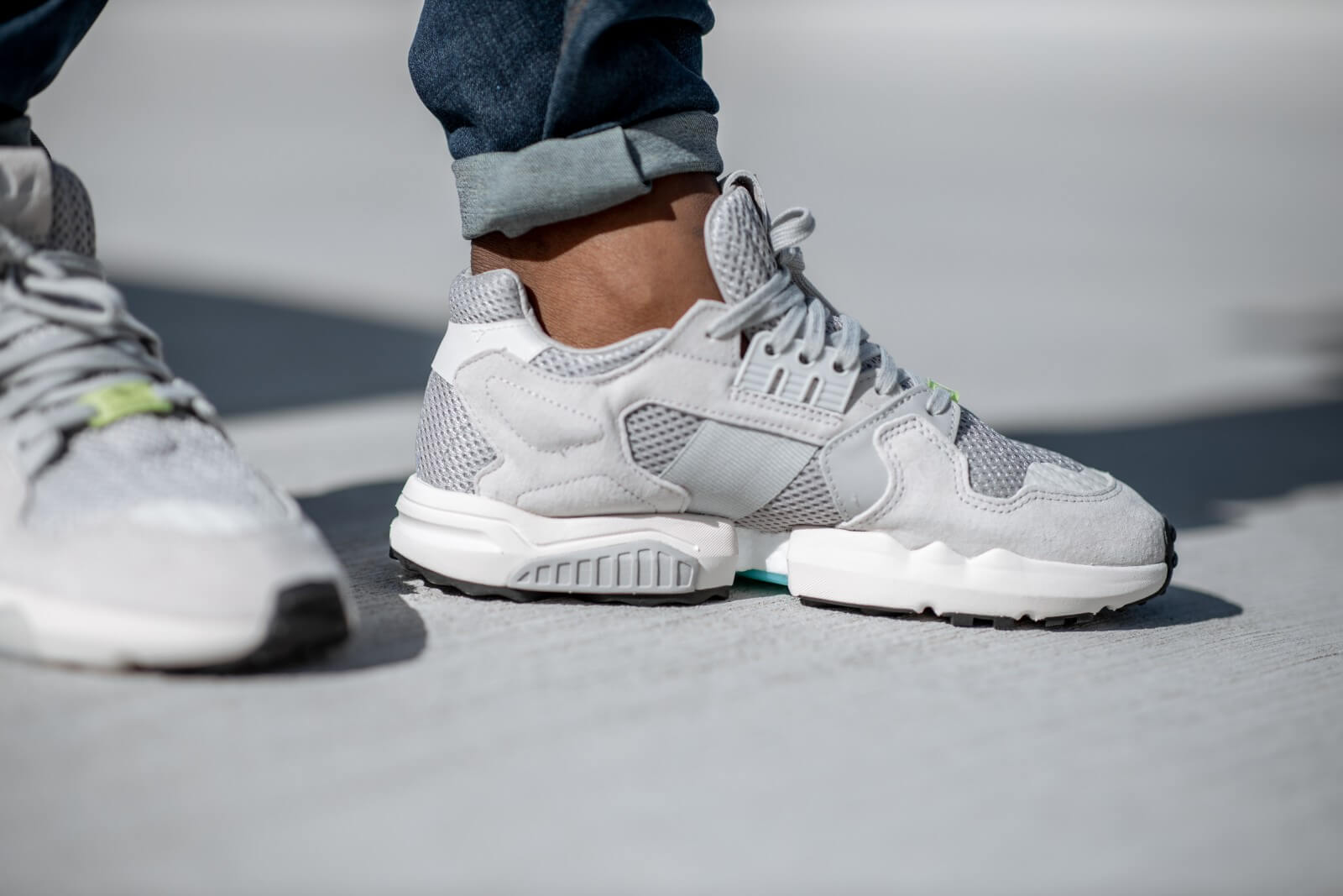 Adidas ZX Torsion Grey Two/Core White - EE4809