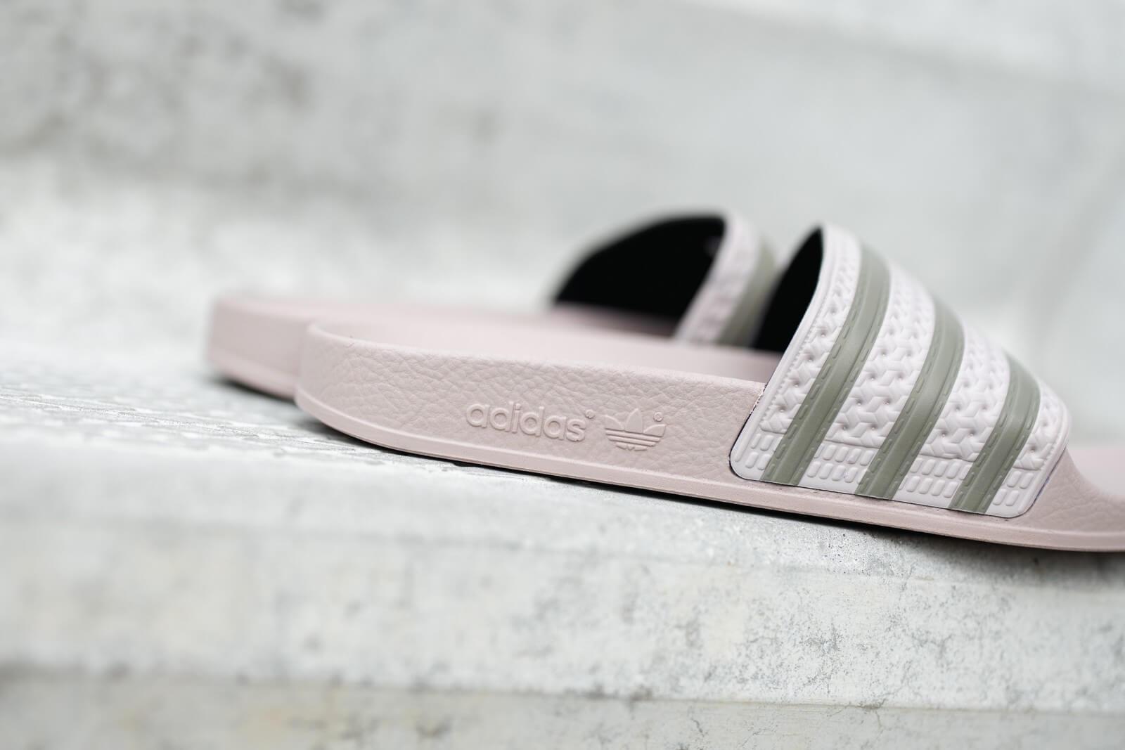 Adidas Women's Adilette Grey/Clay - FV0040