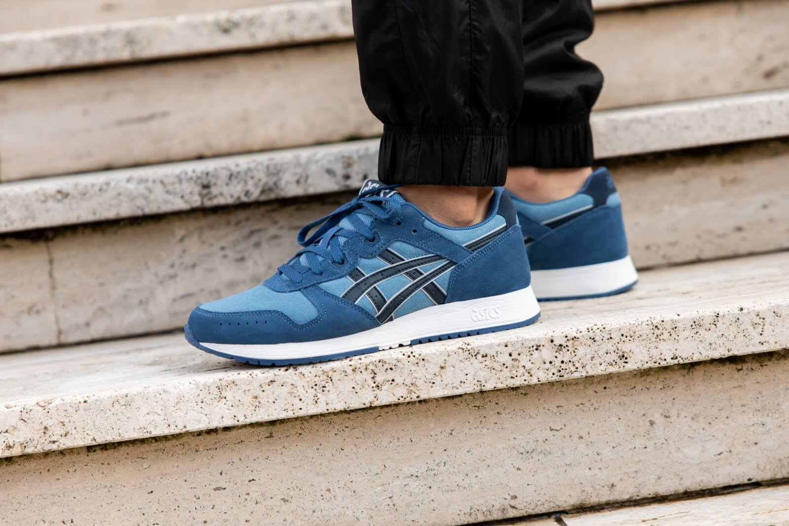 Asics Lyte Classic Grey Floss/French Blue