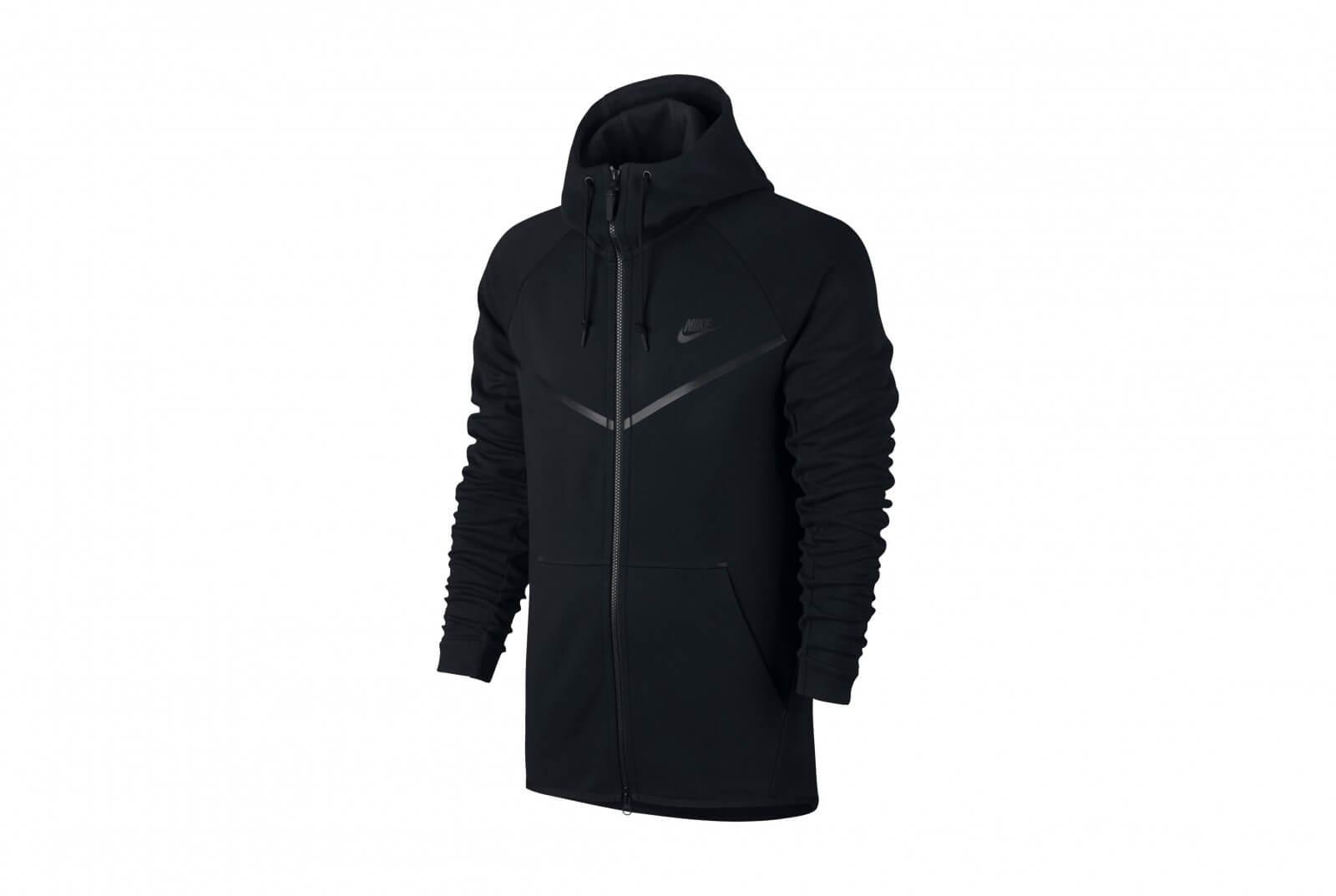 Nike Sportswear Tech Fleece Windrunner Hoodie Black Black