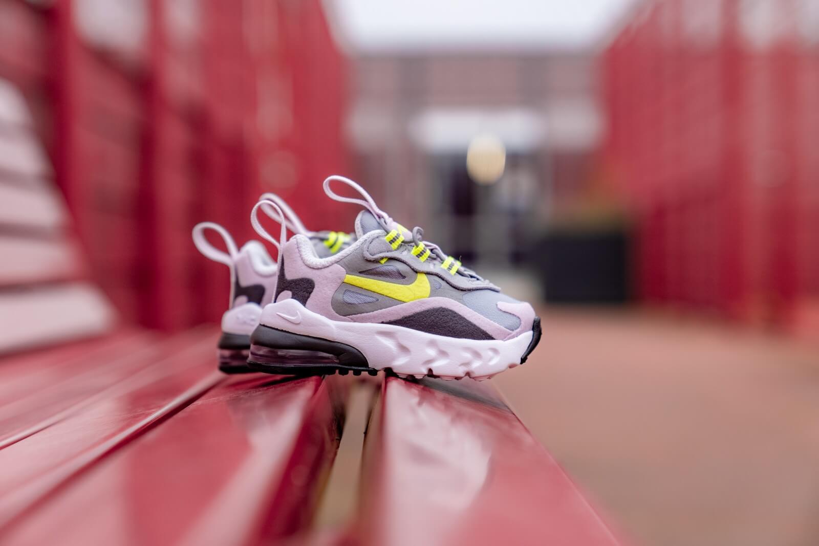 Nike Air Max 270 RT TD Particle GreyLemon Venom CD2654 010