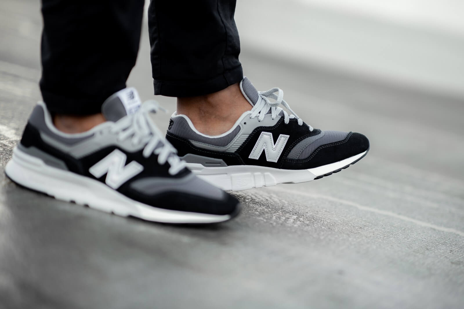 New Balance CM997HBK Black/Grey