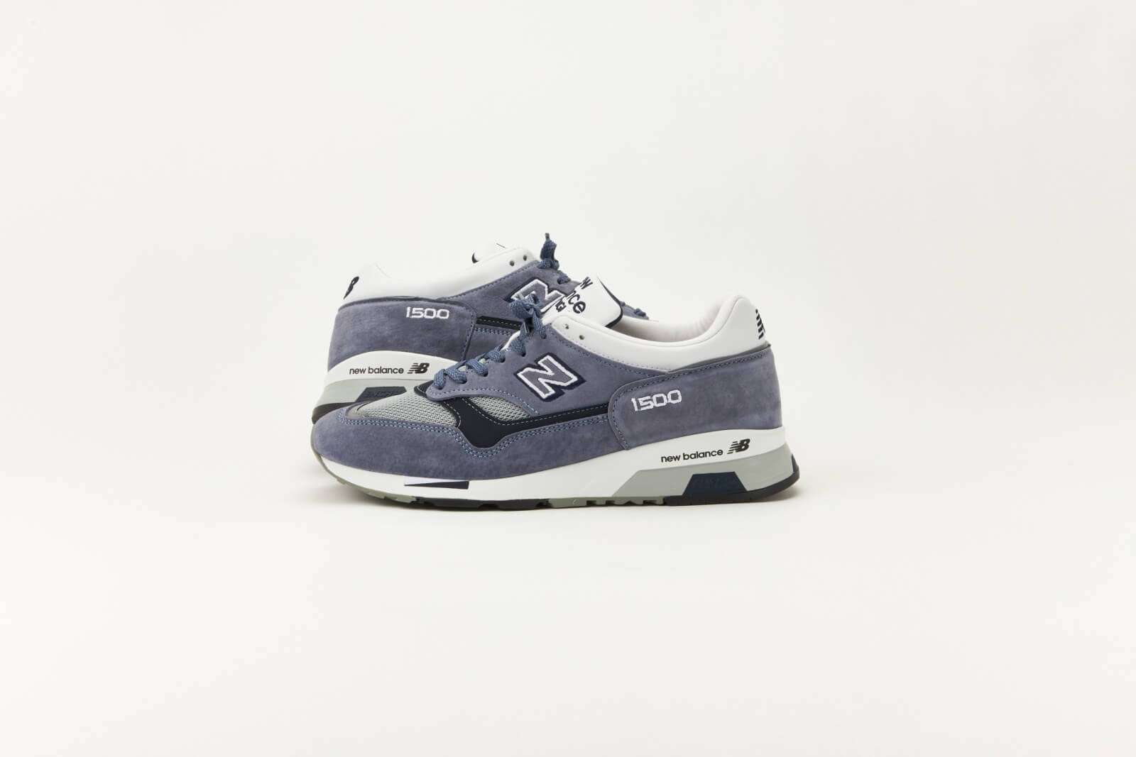 New Balance M1500BN Steel Blue/White-Black Made in England