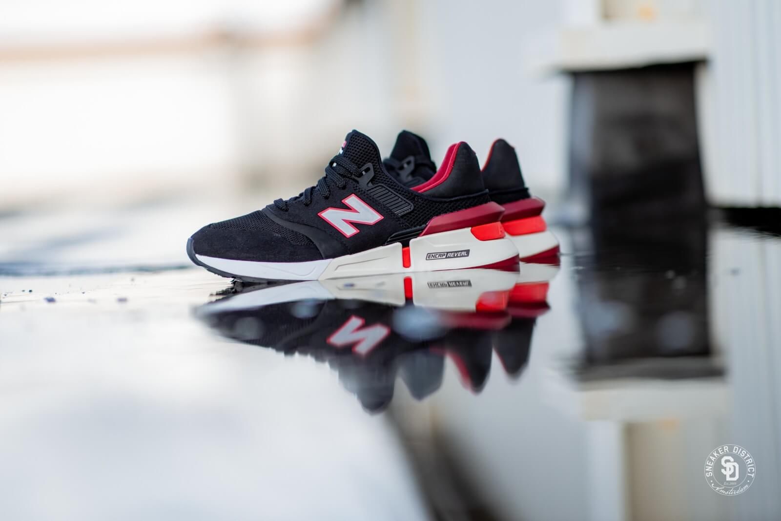 New Balance MS997RD Black/Red - 740441-60-8