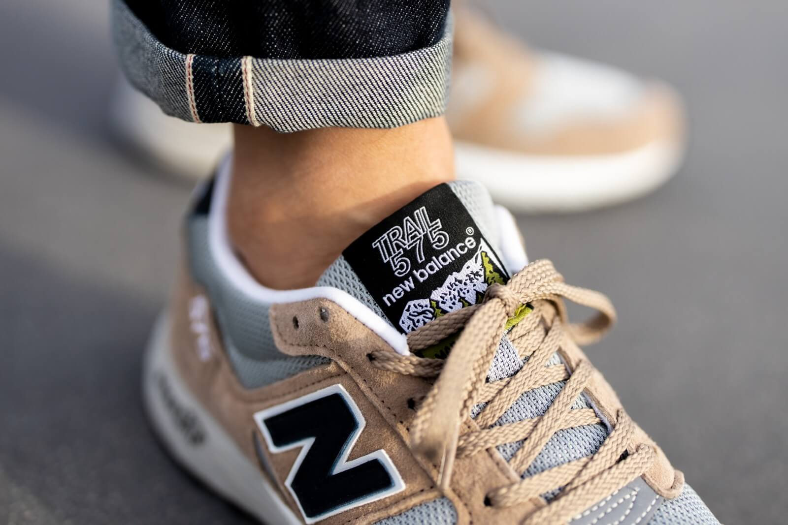 New Balance MTL575GN Brown/Grey Made In England