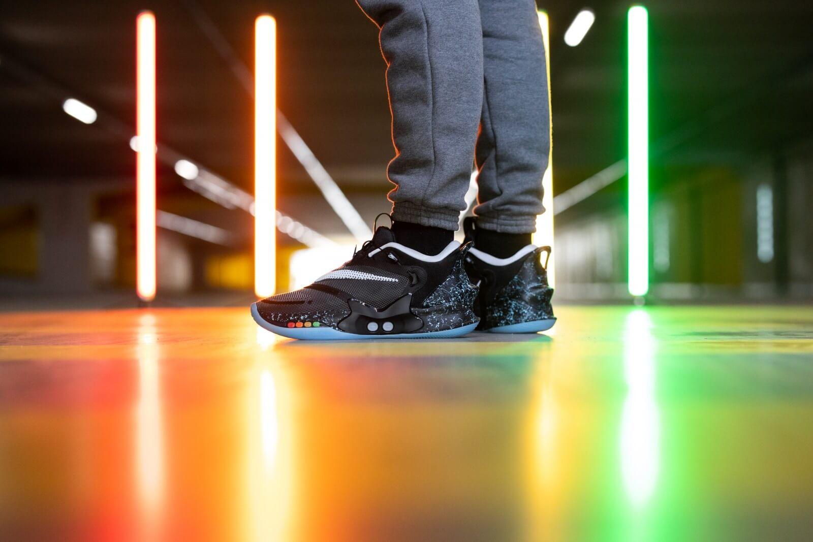 Nike Adapt Bb 2 0 Black Mag Black White Bq5397 002