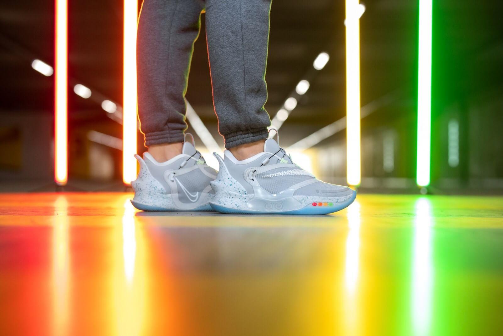 Nike Adapt BB 2.0 Mag Wolf Grey/White