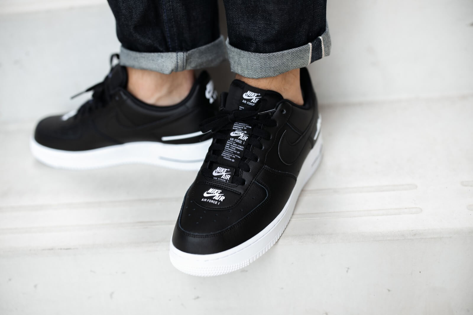 Nike Air Force 1 07 LV8 3 Black/White