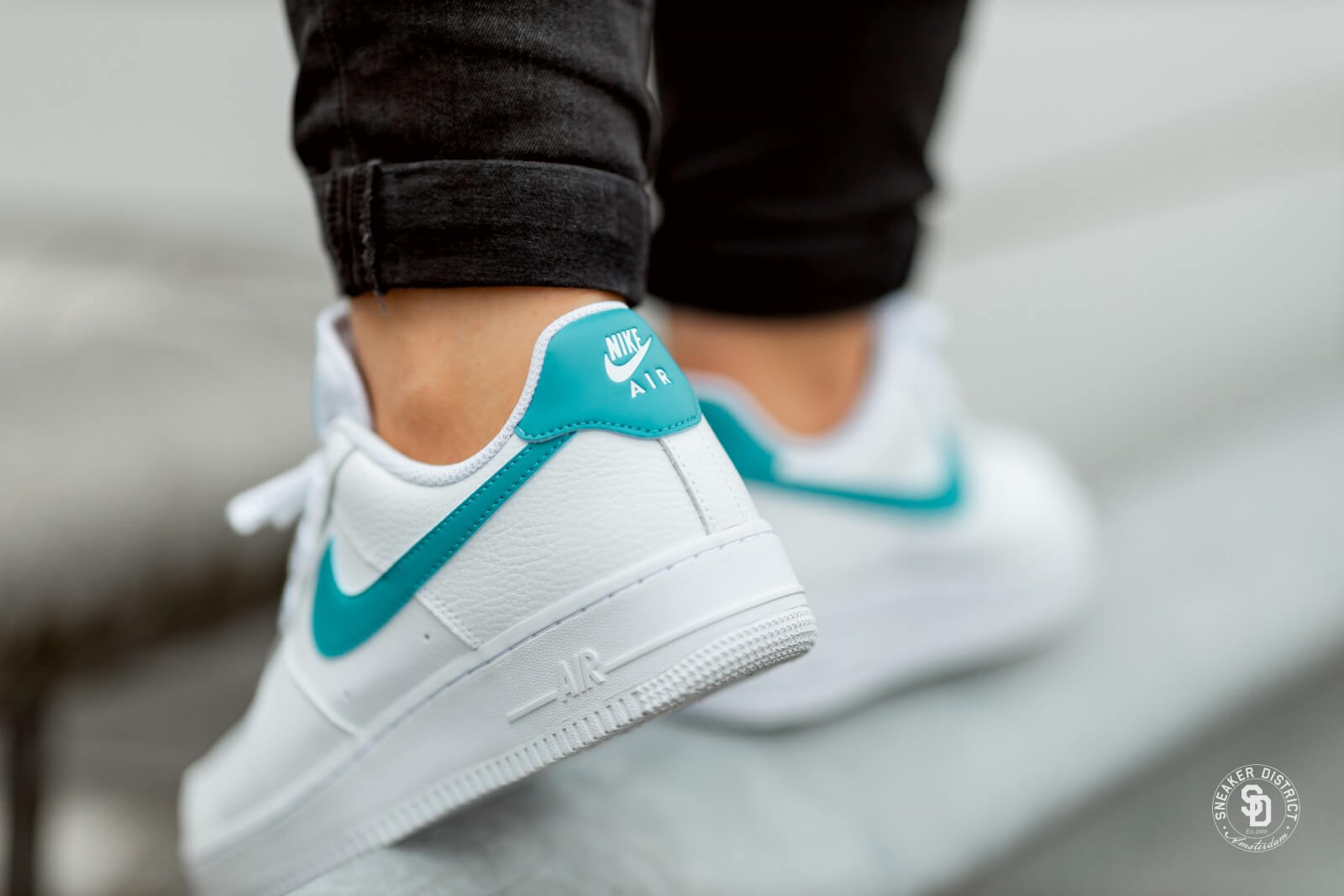 air force 1 femme bleu turquoise