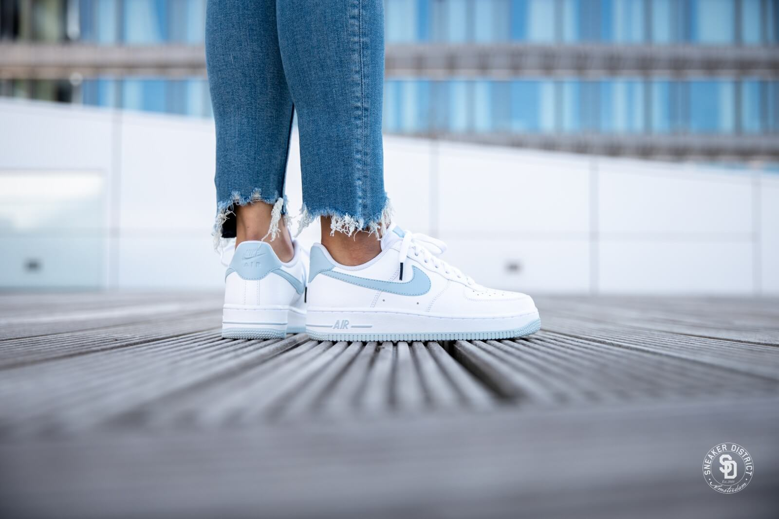 Air Force 1 '07 White/LT Armory Blue