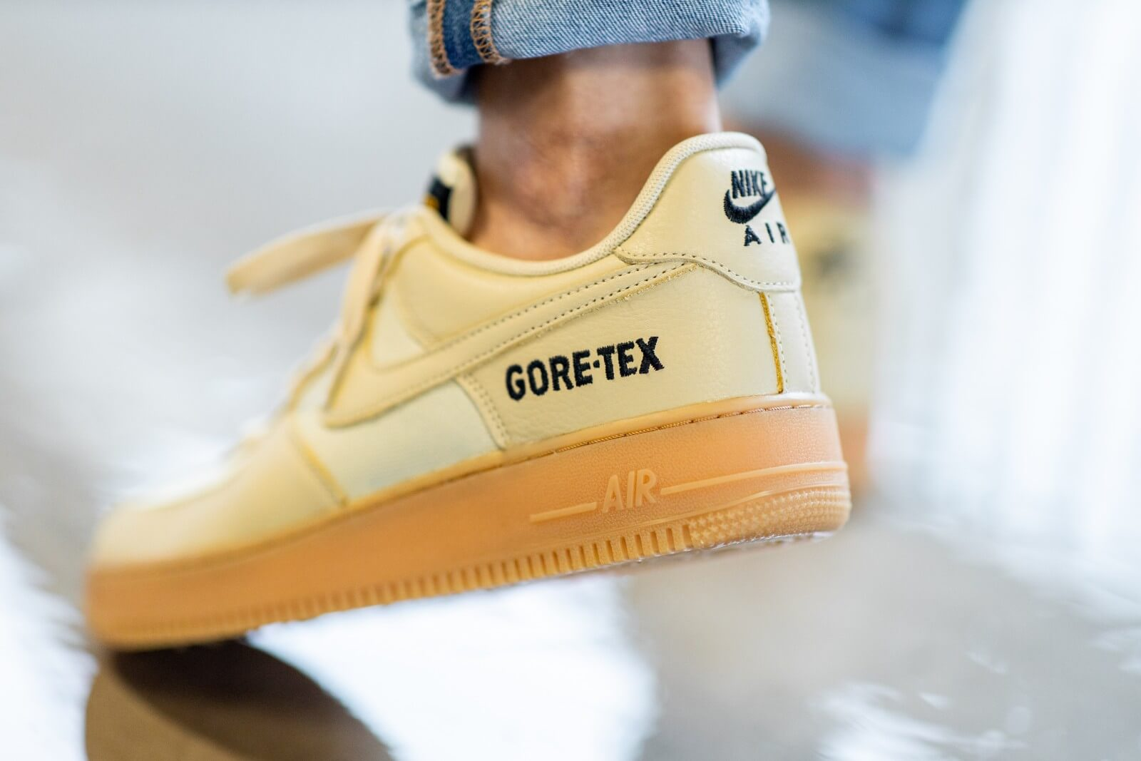 air force 1 gore tex kaki