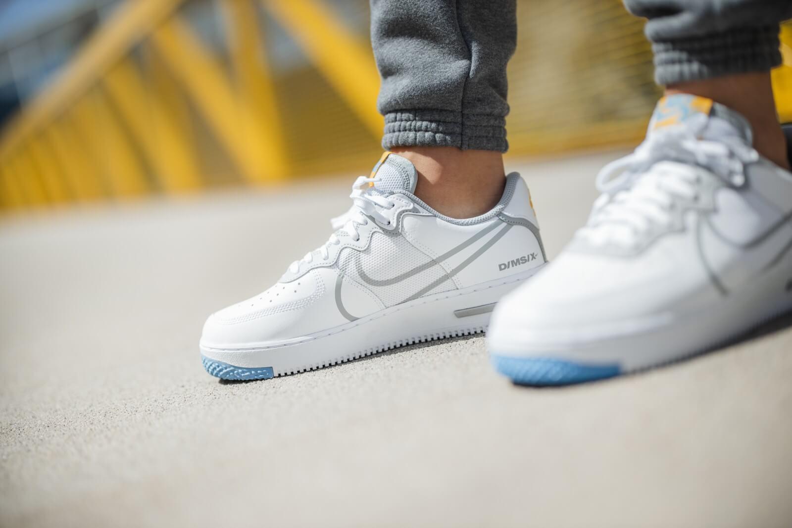 Nike Air Force 1 React White/University