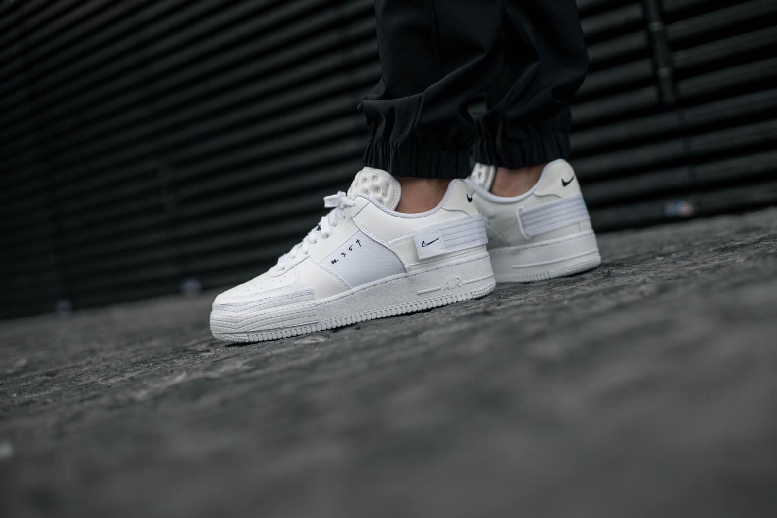 Nike Air Force 1 Type White/White
