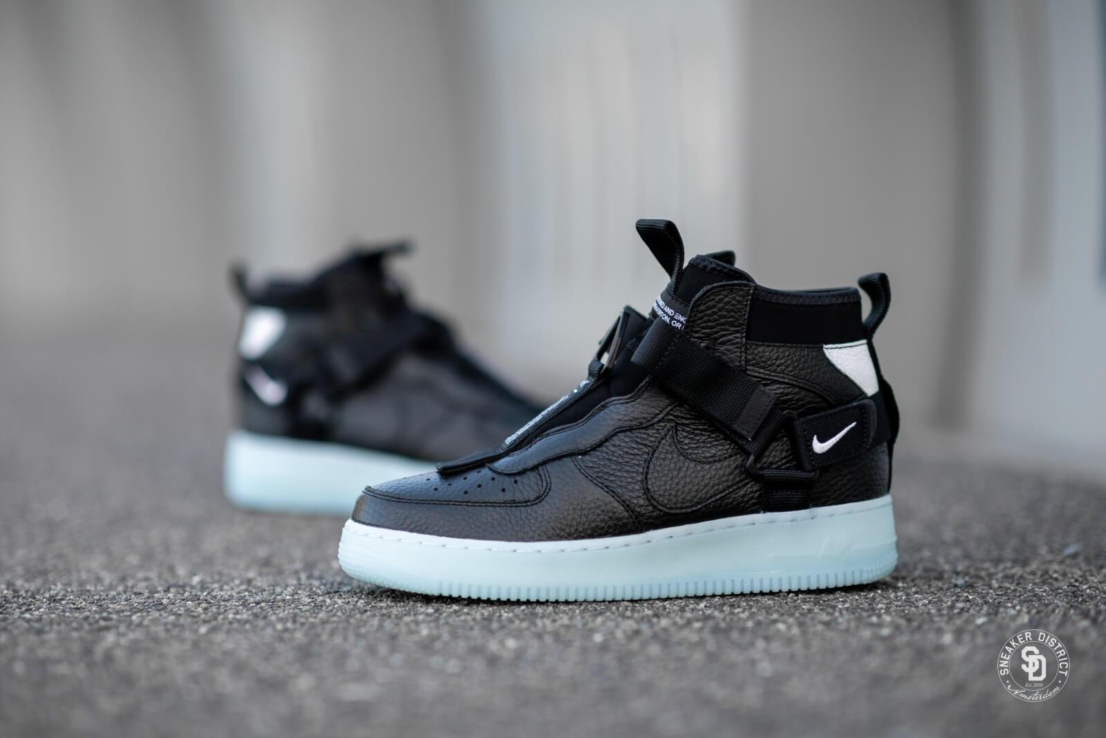 Nike Air Force 1 Utility Mid Black/Half