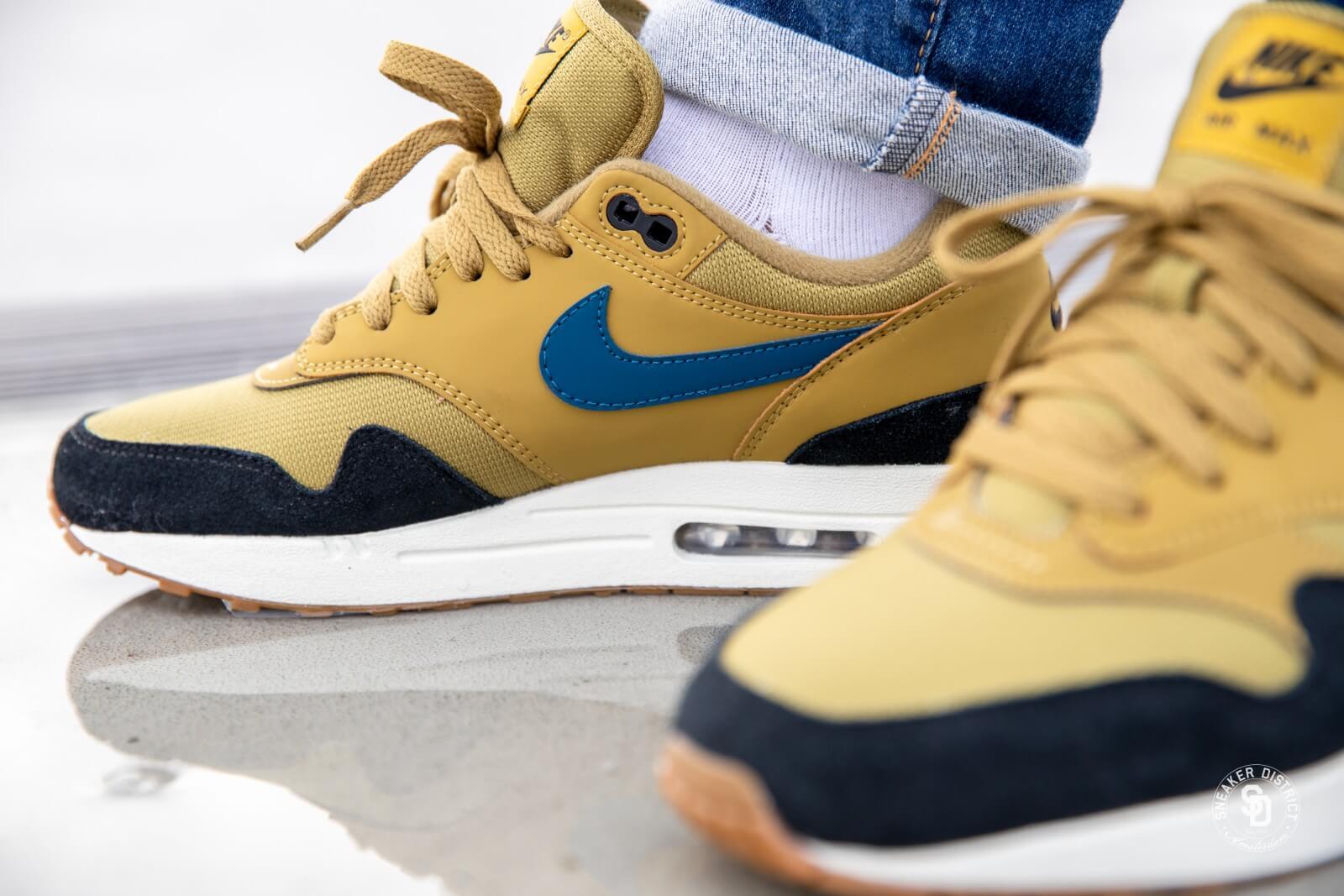Nike Air Max 1 Golden Moss/Blue Force