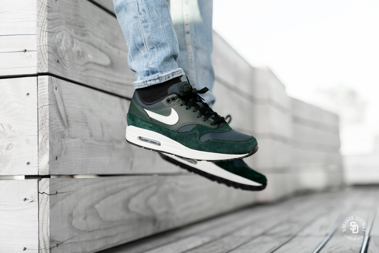 Nike Air Max 1 Outdoor Green/Sail-Black - AH8145-303