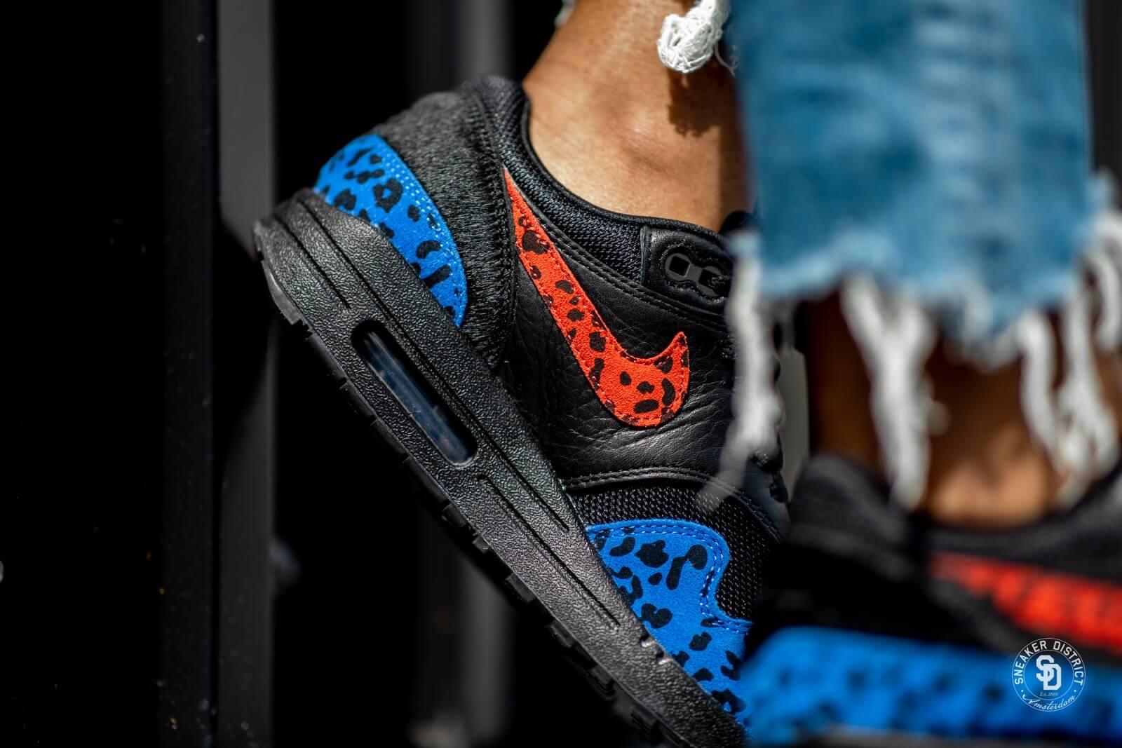 Nike Air Max 1 Premium Black Leopard