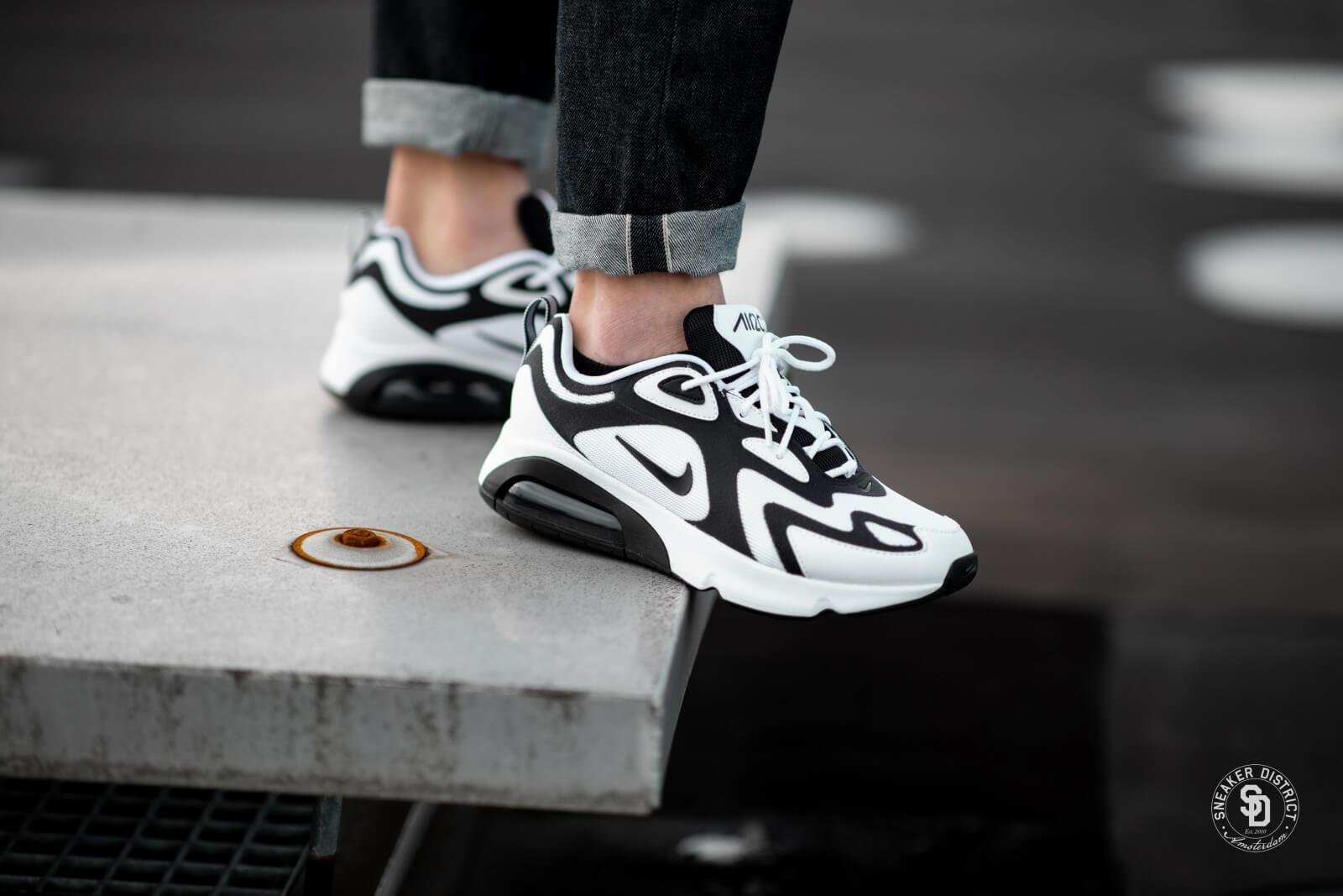 Nike Air Max 200 White/Black-Anthracite - AQ2568-104