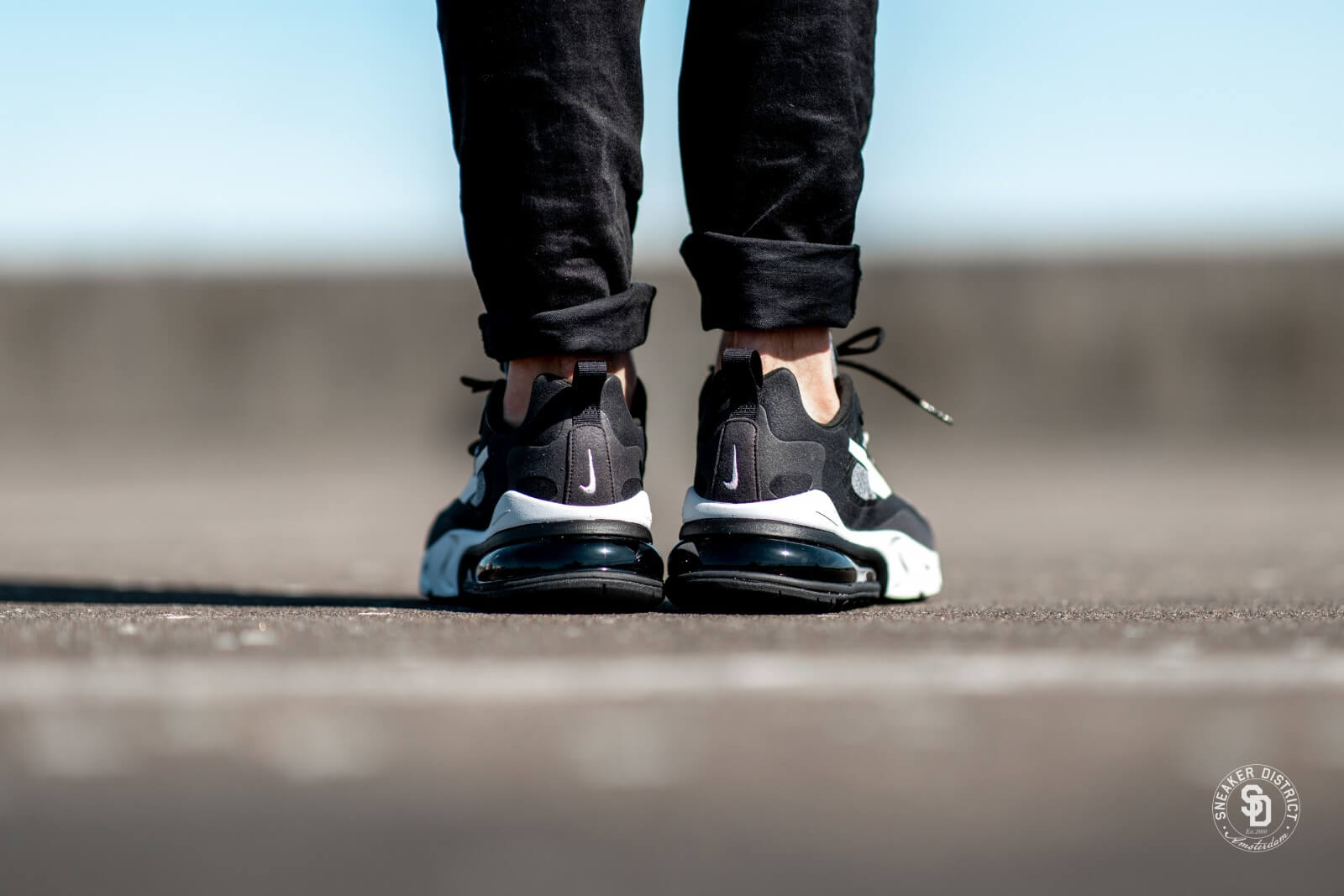 Nike Air Max 270 React Black Vast Grey Off Noir Ao4971 001