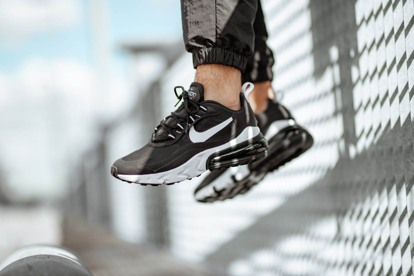 Nike Air Max 270 React BlackWhite AO4971 004