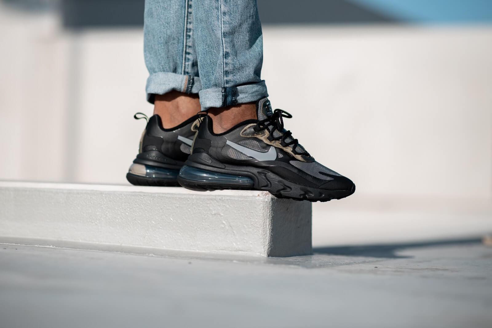 Nike Air Max 270 React BlackWhite Anthracite CT5528 001