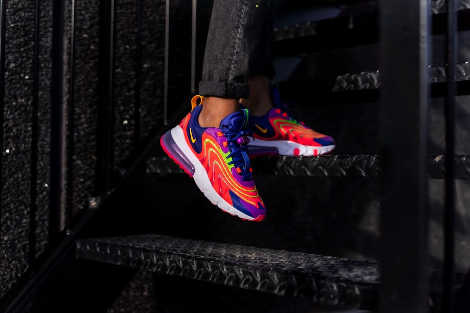 Nike Air Max 270 React Eng Laser Crimson Laser Orange Cd0113 600