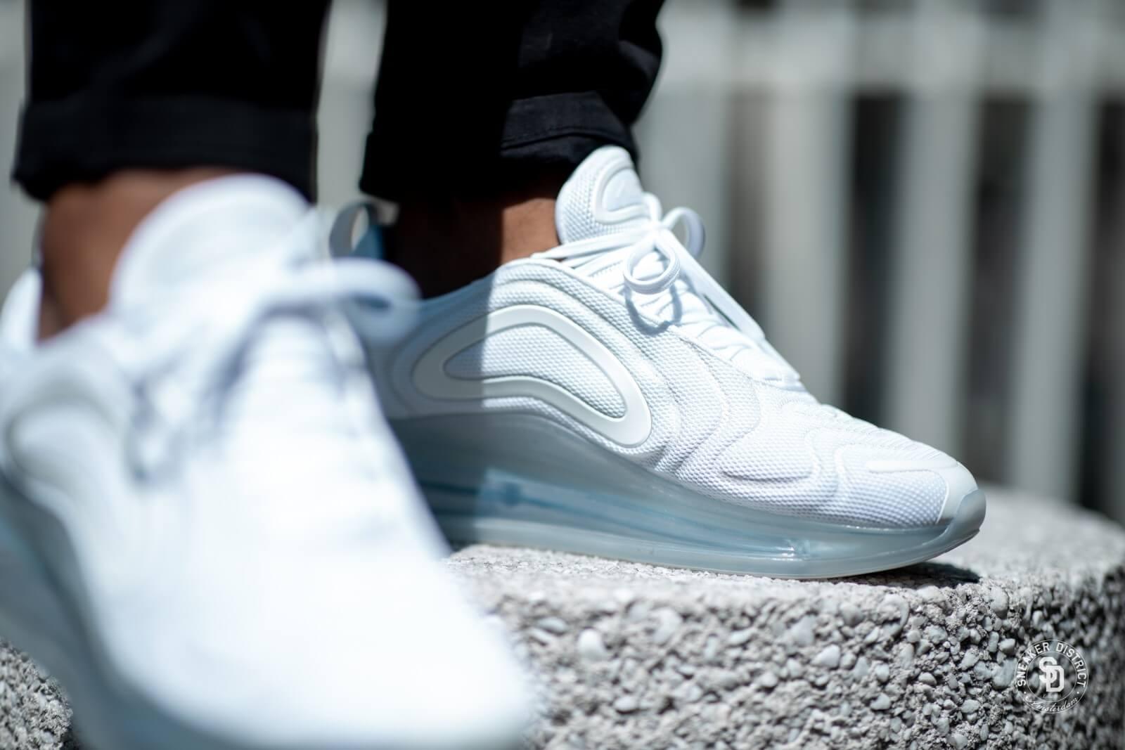 Marcar flaco Milagroso  Nike Air Max 720 White/Metallic Platinum - AO2924-100