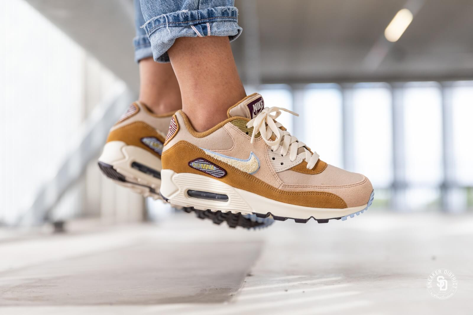 nike AIR MAX 90 PREMIUM SE MUTED BRONZELIGHT CREAM ROYAL