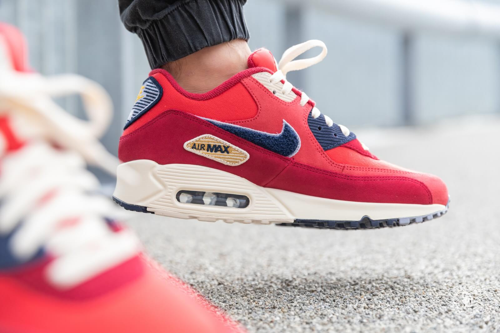 Nike Air Max 90 Premium SE University Red/Provence Purple - 858954-600
