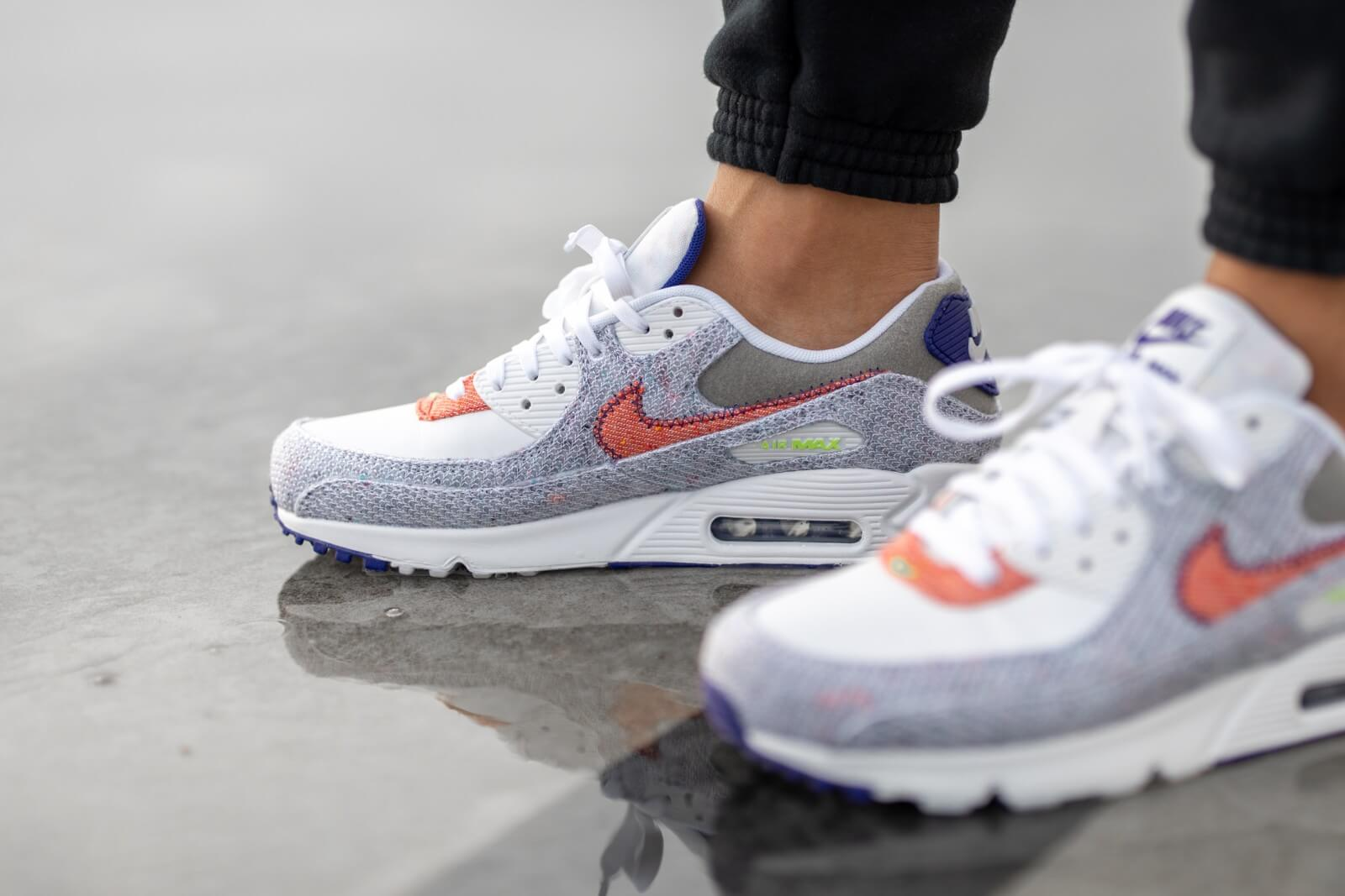 Nike Air Max 90 Recycled Pack White/Electric Green-Court Purple