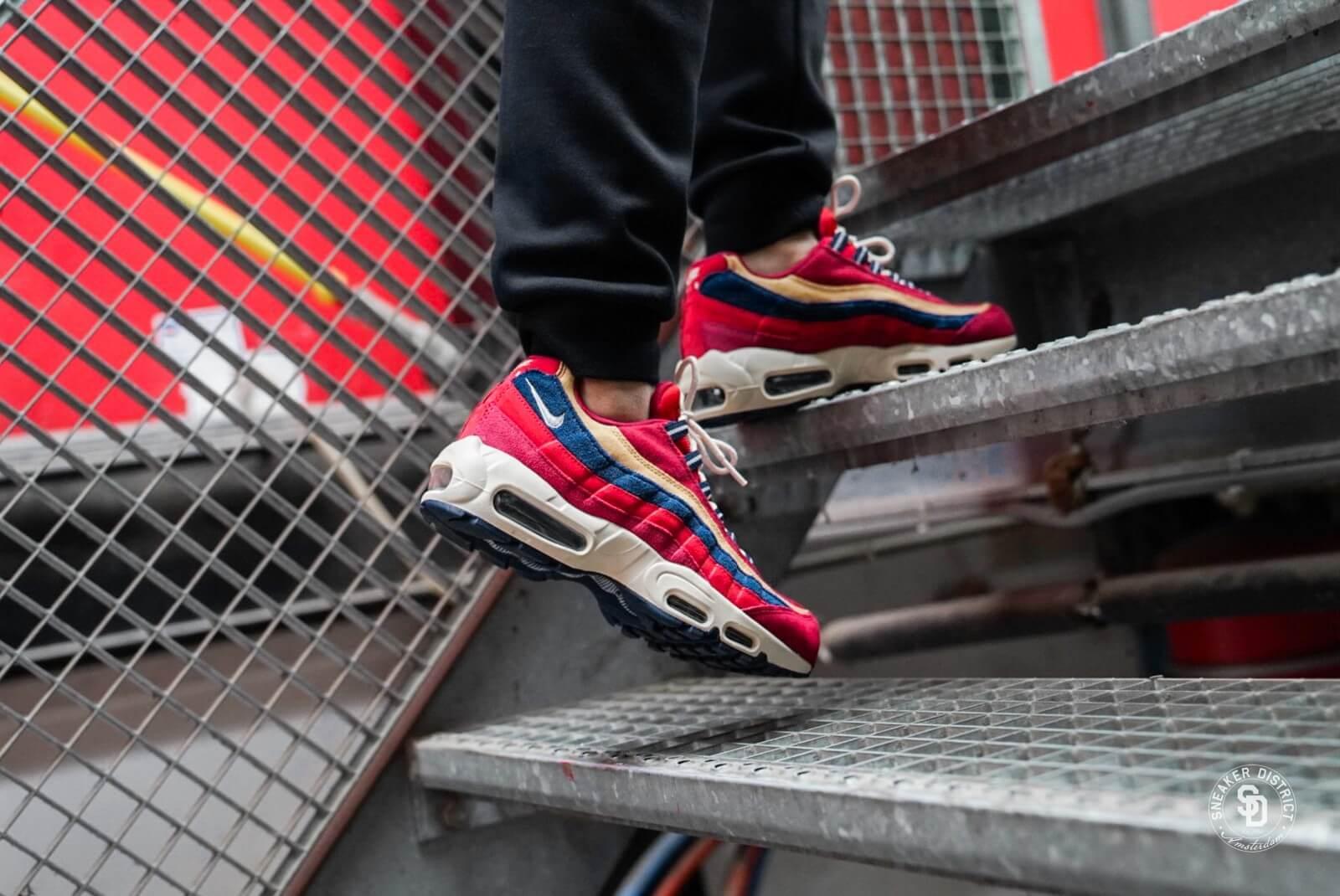Nike Air Max 95 Premium Red Crush