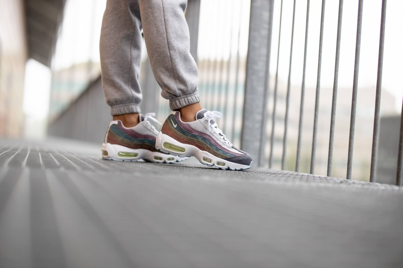 Nike Air Max 95 Recycled Canvas Vast Grey/White-Barely Volt