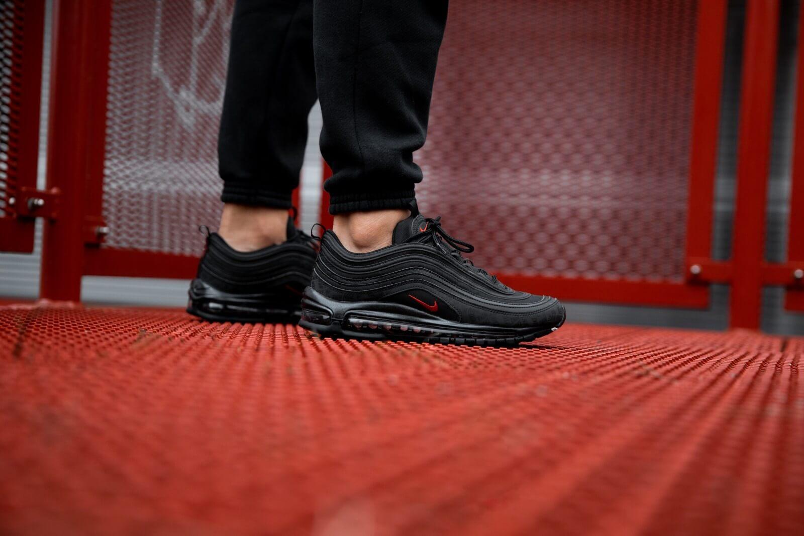 Nike Air Max 97 Black/University Red