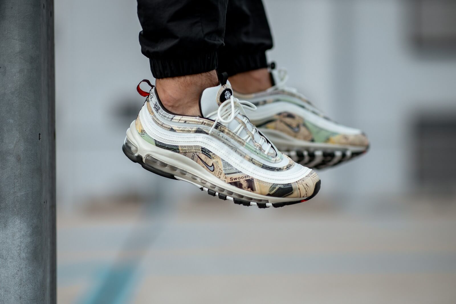 Nike Air Max 97 Sail/White-Black - 921826-108