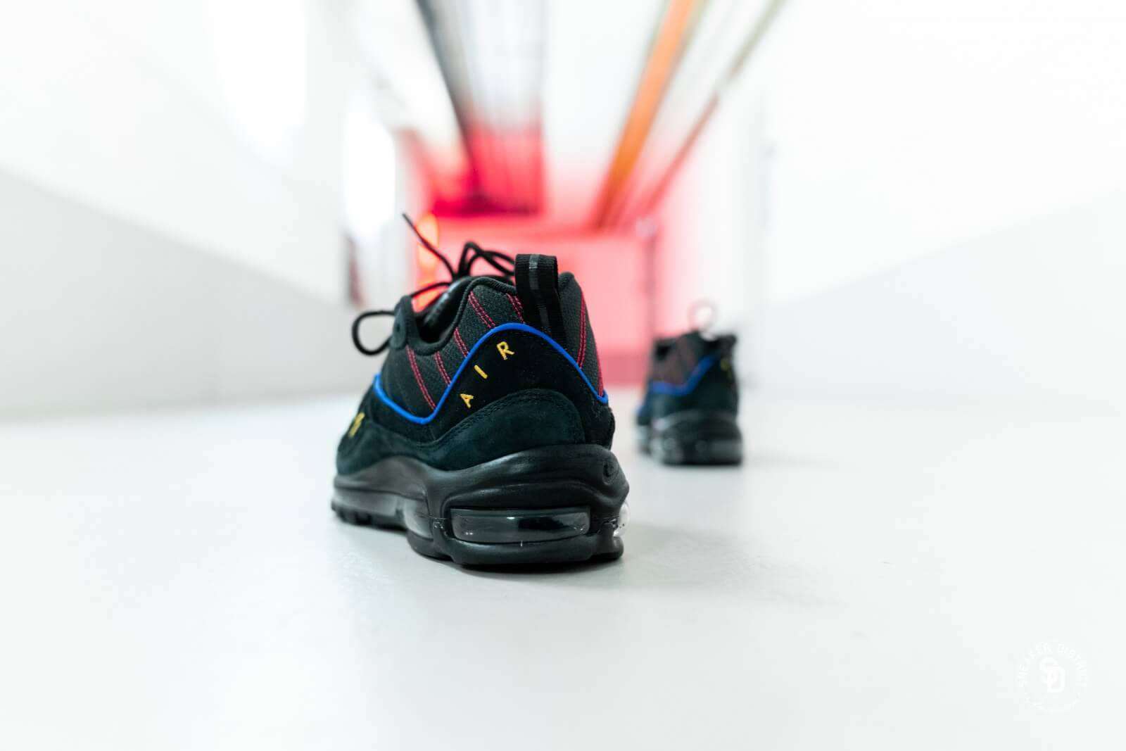 Nike Air Max 98 BlackAmarillo University Red CD1537 001