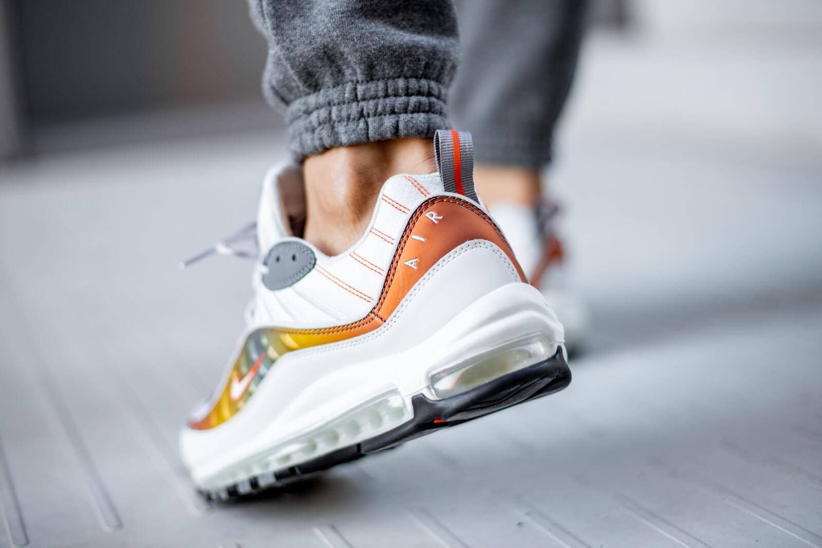 Nike Air Max 98 SE Vast Grey/Team Orange