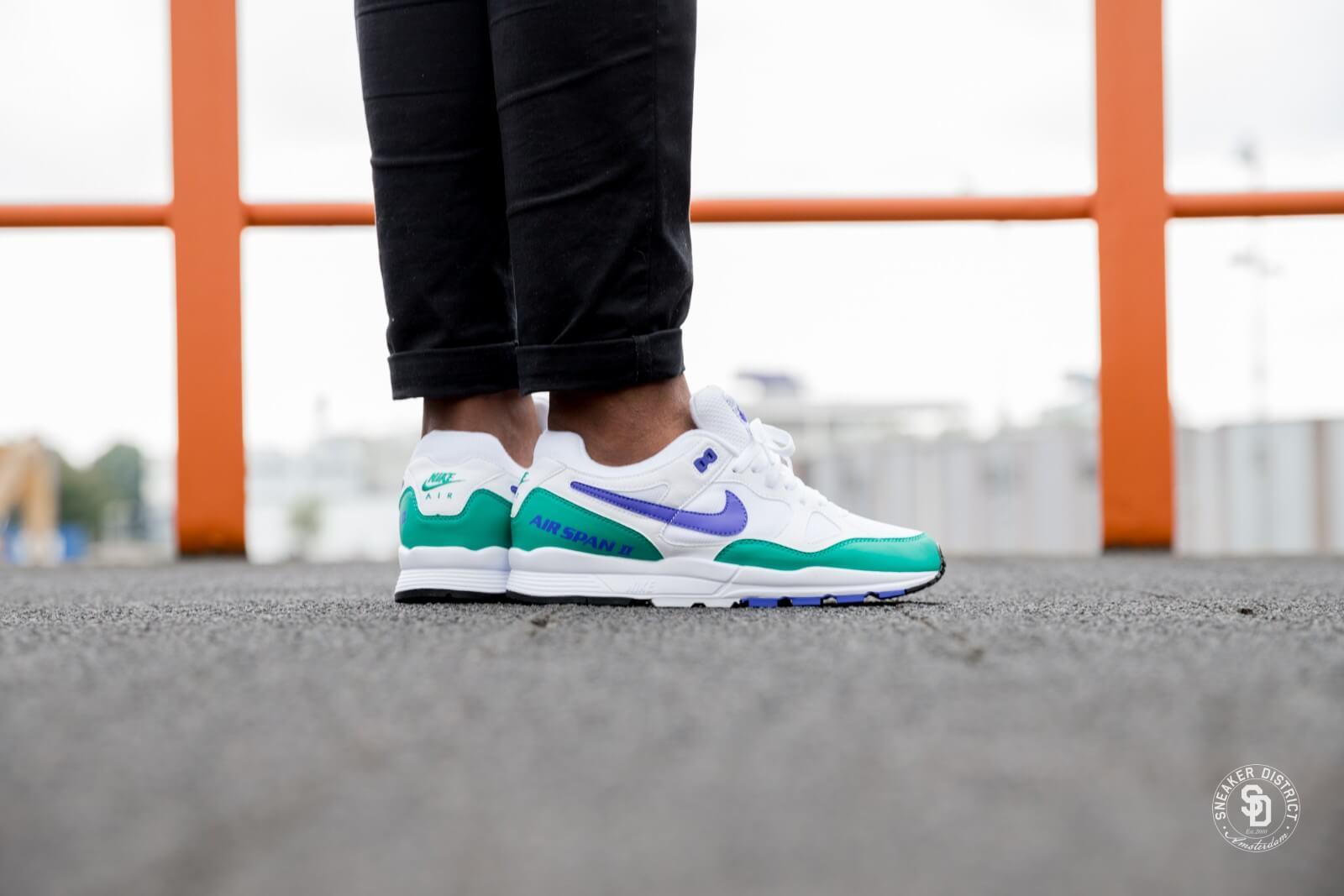 Nike Air Span II White/Persian Violet