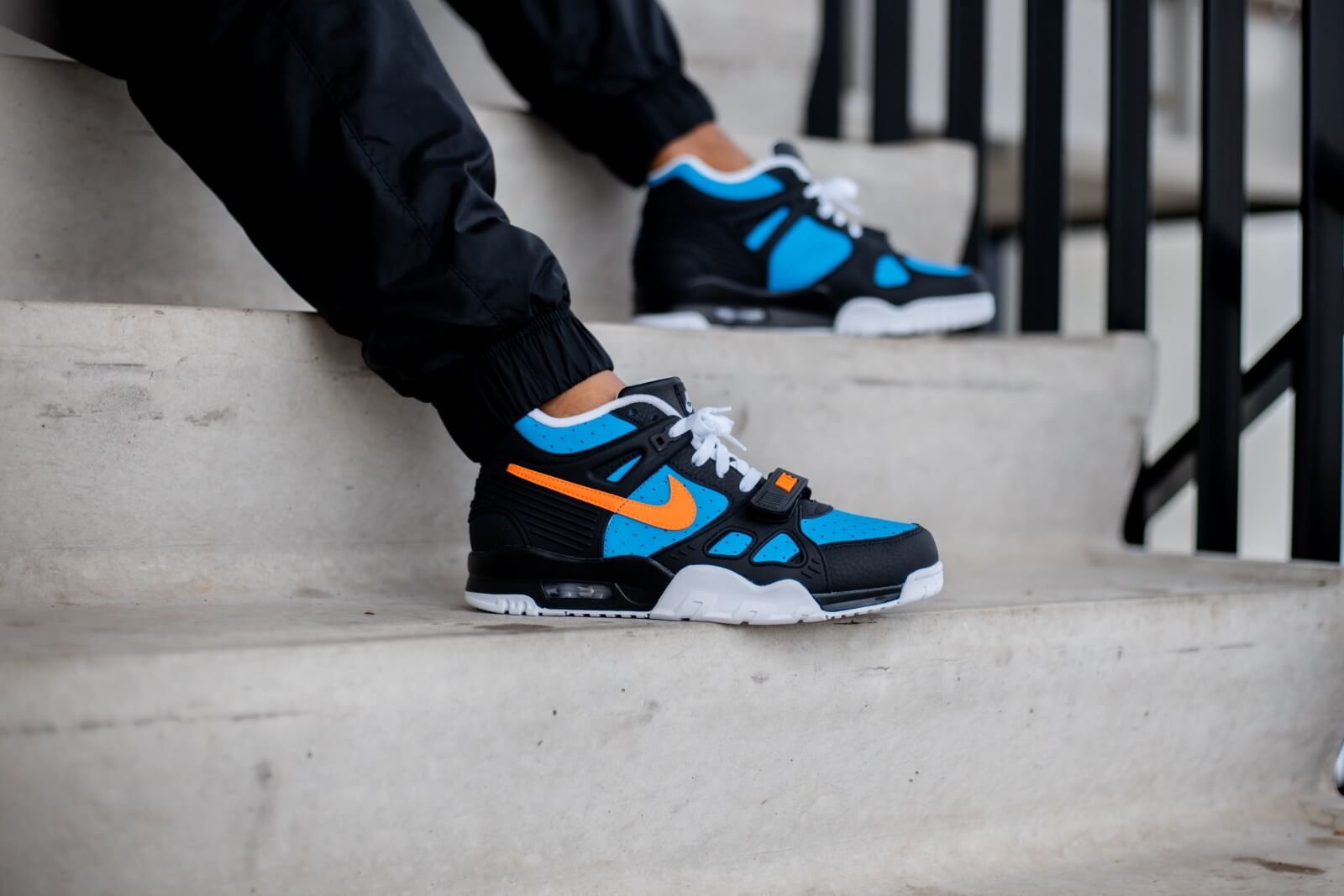 Nike Air Trainer 3 Black/Total Orange