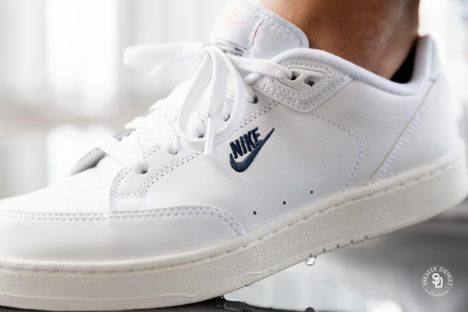 the best attitude 69882 b81cd Nike Grandstand II White Navy,Sail ...