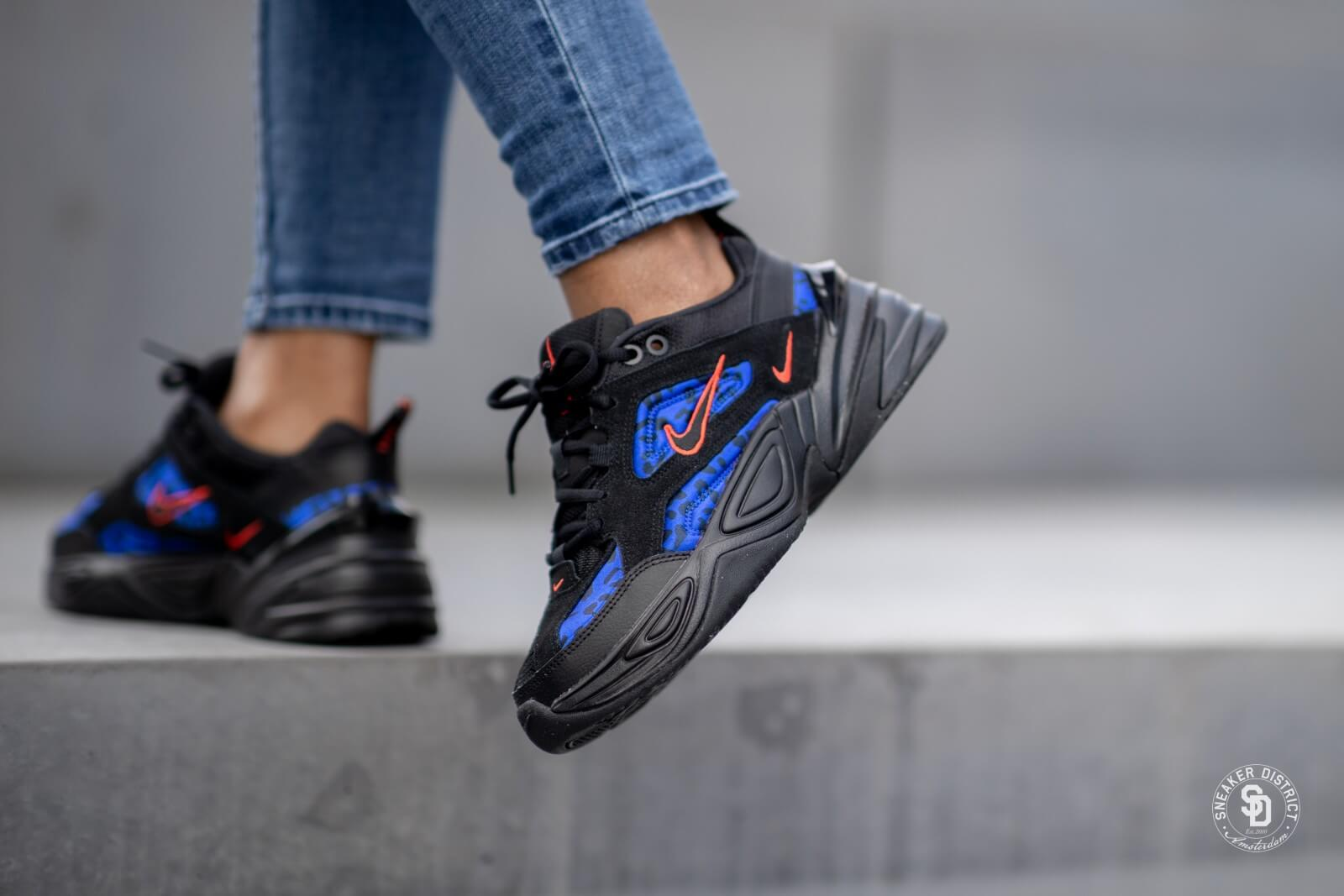 Variante Perth Blackborough gritar  Nike M2k Tekno Premium Black Leopard Habanero Red/Racer Blue - CD0181-001