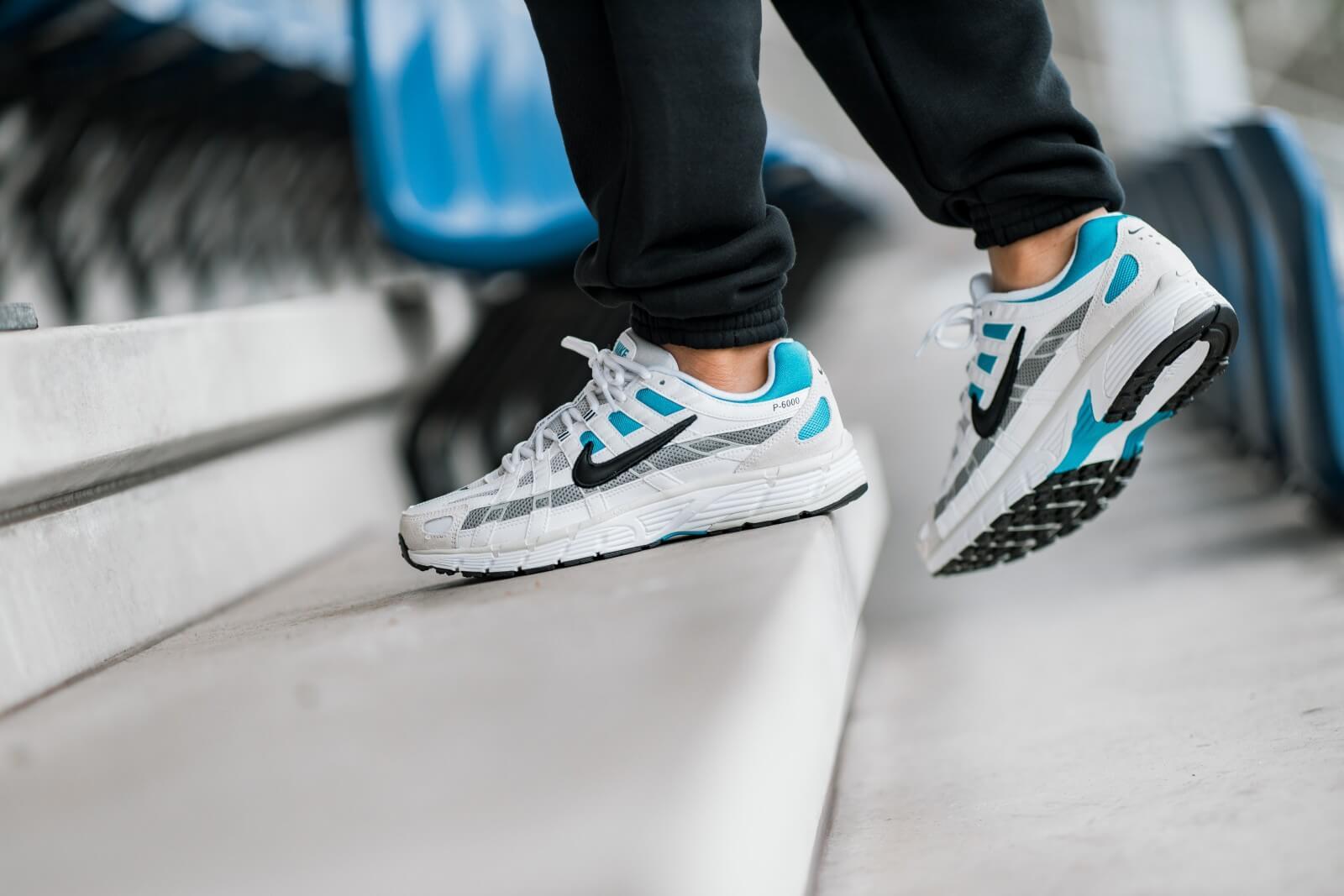Nike P-6000 White/Laser Blue