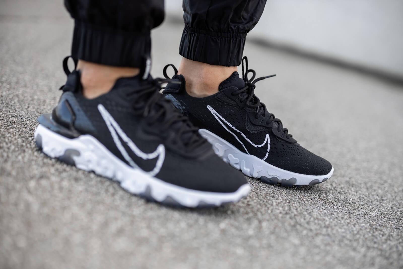 Nike React Vision Black/White-Black