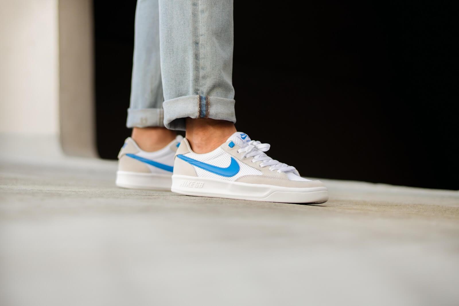Nike SB Adversary White/Photo Blue