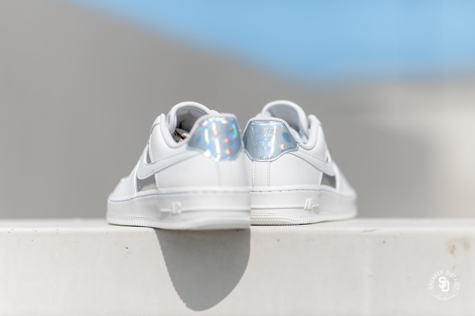 Nike Women's Air Force 1 Lo Summit White/Metallic Silver