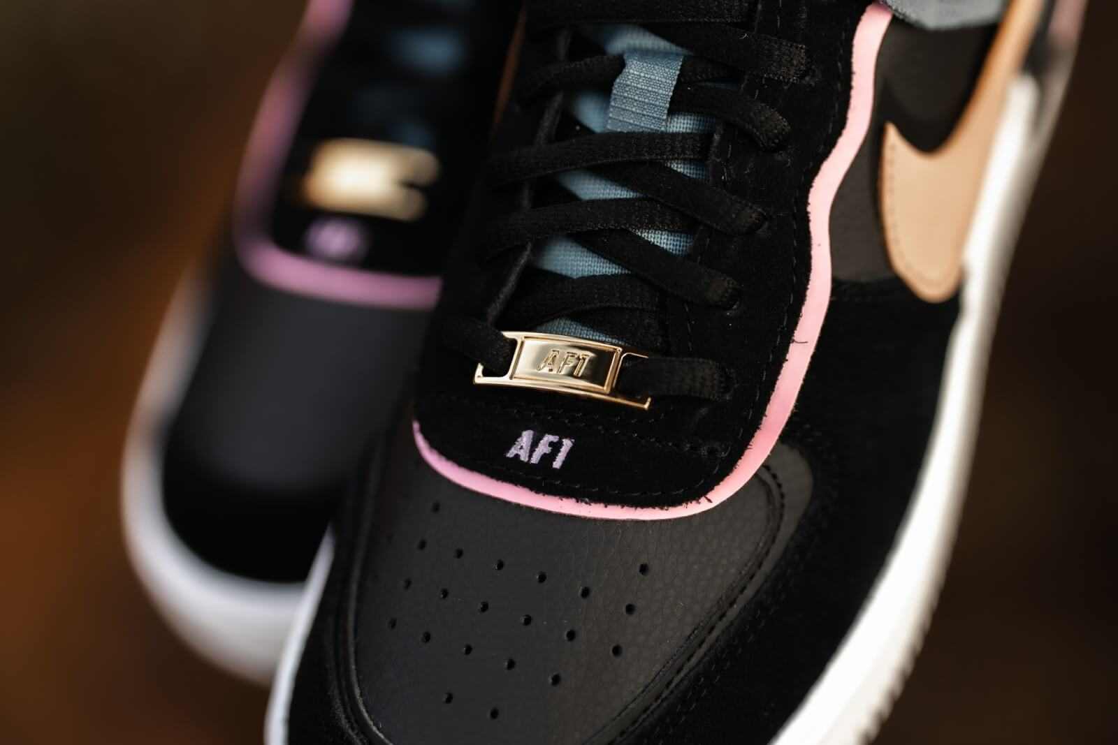 Nike Women S Air Force 1 Shadow Rtl Black Metallic Red Bronze Light Arctic Pink Cu5315 001 1,233 items on sale from $29. nike women s air force 1 shadow rtl black metallic red bronze light arctic pink