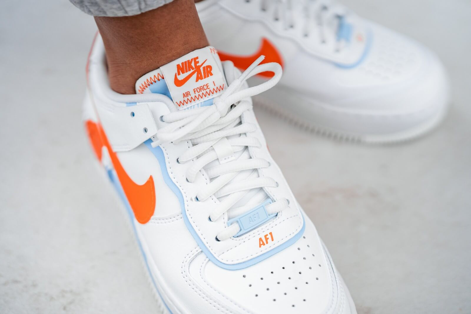 nike air force 1 shadow orange