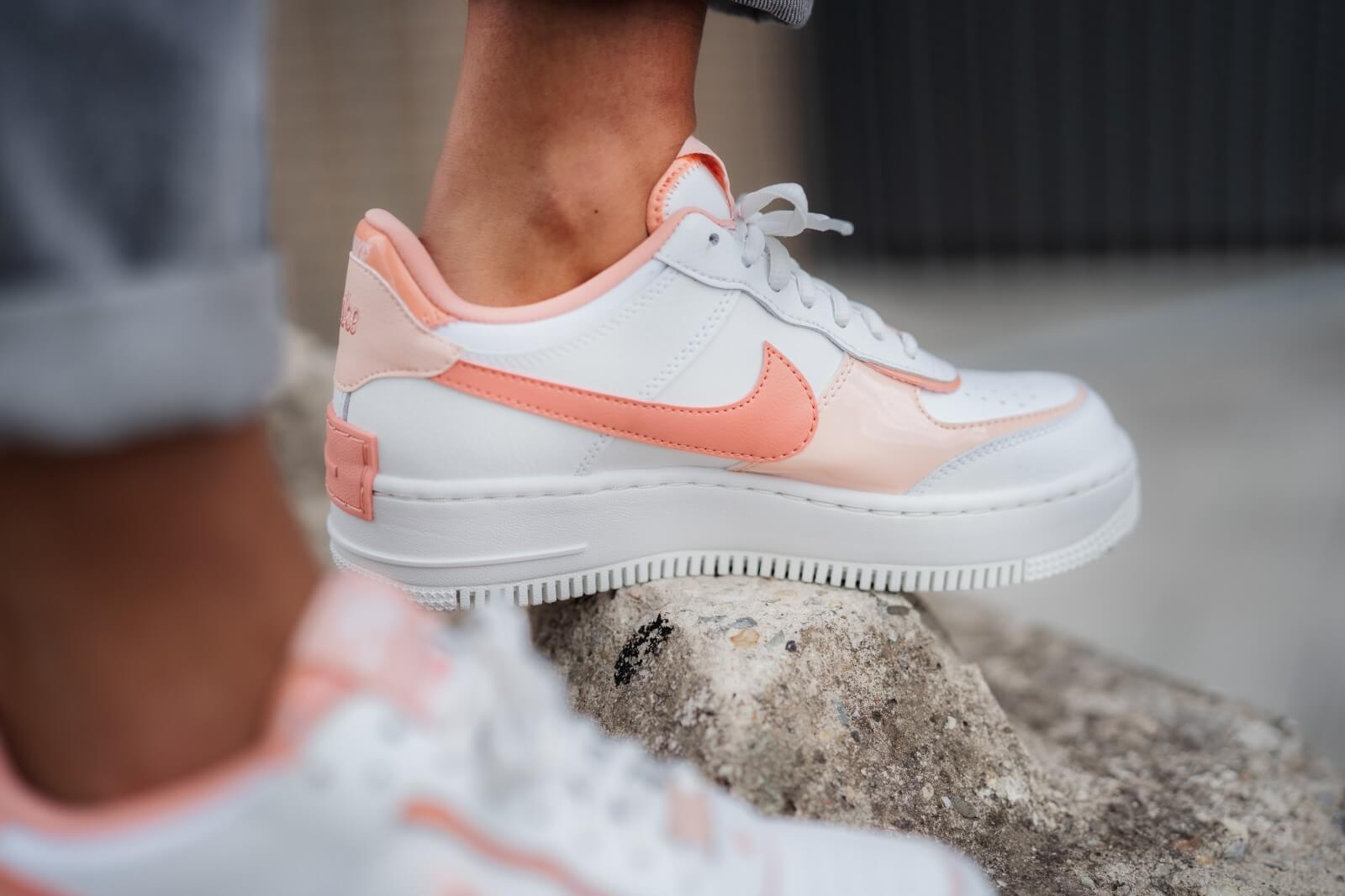 womens air force 1 shadow washed coral